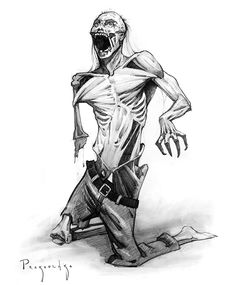 40 Insanely Cool Zombie Drawings and Sketches,For as long as I remember, I had a constant battle with my fear of zombies. Zombies are frightening dead creatures living for eating the brain. Zombie Drawing Easy, Zombie Drawings, Scary Drawings, Skeleton Drawings, Dark Art Drawings, Human Skeleton, Zombie Pose, Arte Zombie, Zombie Art
