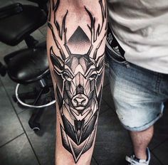 Значение татуировки олень