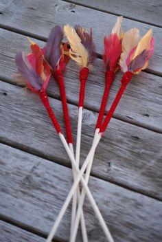 Katniss Everdeen costume DIY: Arrows