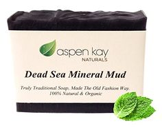 Dead Sea Mud Soap Bar 100 Organic Natural With Activated Charcoal Therapeutic Grade Essential Oils Face Soap or Body Soap For Men Women Teens Chemical Free Bar >>> Hurry! Check out this great product : Organic Skin Products Essential Oils For Face, Therapeutic Grade Essential Oils, Charcoal Soap, Activated Charcoal, Natural Charcoal, Acne Soap, Dead Sea Mud, Dead Sea Minerals, Homemade Moisturizer