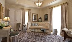 A bridal suite fit for a queen. Experience the royal treatment while getting ready for your wedding at The Jefferson Hotel DC Jefferson Hotel, Washington Dc Hotels, Bridal Suite, Queen, Detached House, Hotel Offers, Decorating Tips, Property For Sale, New Homes