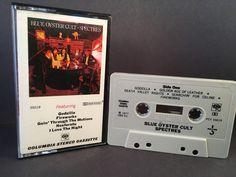 BLUE OYSTER CULT - spectres - CASSETTE rock Blue Oyster Cult, Death Valley, Godzilla, Fireworks, Rock, Music, Ghosts, Musica, Musik