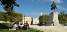 Arc de triomphe de Montpellier vu du Peyrou