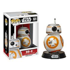 Back in Stock! Star Wars Episode VII The Force Awakens BB-8 Pop! Vinyl 61  #FUNKO