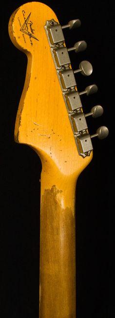 Fender Custom ShopNAMM 2012 Heavy Relic Jazzmaster - Sonic Blue