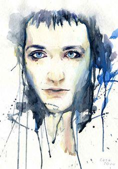 Brian Molko by Cora-Tiana on DeviantArt