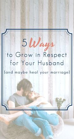 Marriage is so hard! so is respecting your husband. It can be a struggle if you haven't lived with a good marriage role model in your life. I definitely didn't! This was very helpful. Intimacy In Marriage, Biblical Marriage, Marriage And Family, Marriage Life, Relationship Advice, Relationships, Marriage Help, Healthy Marriage, Marriage Goals