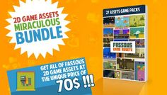 2D ASSETS GAMEPACKS HUGE BUNDLE has just been added to GameDev Market! Check it out: http://ift.tt/1ORn64B #gamedev #indiedev