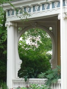 Side porch off Linnaean Street