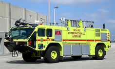Miami-Dade Fire Rescue<br /> Miami International Airport<br /> Foam-3<br /> 2008 Oshkosh Striker 1500/1500/210/450PK<br /> Photo by: Alex M. Poitevien Jr.