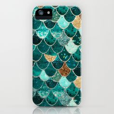 This phone case is inspiring because the pattern is a great example of repetition. I also love how the same color, turquoise, is repeated throughout, but there are different shades and slightly varied textures on each scale. The pop of color by using gold colors on a few scales also makes the pattern unique. The idea of using a repetitive pattern like this with slightly different shades of color and textures is something I will definitely want to try when creating my own design.