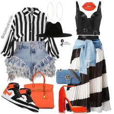 Bad And Boujee Outfits, Swag Outfits For Girls, Cute Comfy Outfits, Stylish Outfits, Cute Fashion, Fashion Outfits, Womens Fashion, Fashion Ideas, Denim Outfit