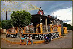 Capilla del Señor de Tepalcingo,San Gregorio Atzompa,Estado de Puebla,México