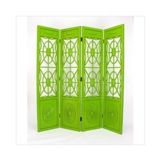 gorgeous green room divider