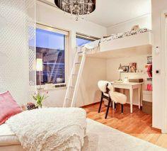 mommo design: LOFT BEDS WITH DESK