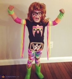 The Ultimate Warrior Costume                                                                                                                                                                                 More