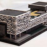 Wilberg Atrium in Lego
