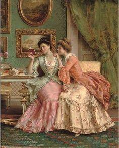 Ideas for painting portrait victorian Classic Paintings, Old Paintings, Beautiful Paintings, Romantic Paintings, Victorian Women, Victorian Fashion, Victorian Dresses, Victorian Gothic, Renaissance Kunst