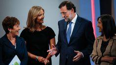 """Rajoy: """"Si hay algo que no tocaré serán las pensiones"""" Más información: http://www.rtve.es/noticias/20120910/562546.shtml"""