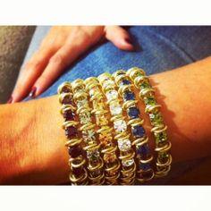 MoonRox Jeweled Bracelets