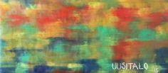 """Saatchi Art Artist Jukka Uusitalo; Painting, """"Mu Pori 2015"""" #art"""