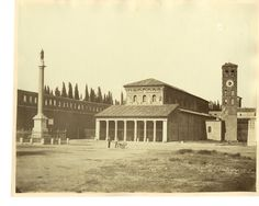 S. Lorenzo oggi... 1880 circa...