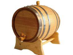 Oak Barrel - 100 oz (3 liter) Black Hoop $36