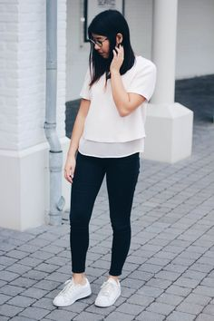 Click the image to shop the outift   #shoptheblog ♡ Basics are always right // by InHighFashionLaune