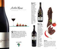 Wine catalogue by Miro Kubečka, via Behance