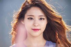 Photo shoot of AOA's Seolhyun for Acuvue revealed Bright Red Lipstick, Kim Seol Hyun, Perfect Model, Seolhyun, Korean Celebrities, Korean Singer, Japanese Girl, K Idols, Pretty People