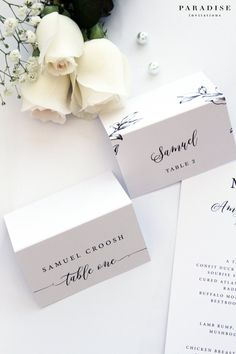 diy vintage place cards from downloadandprint use for a wedding