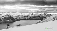 Julie Nieuwenhuijs - Who let the dog out? Senja Island, Norway, May 2015 - Photography by Caroline van't Hoff - More on  https://www.facebook.com/juulski.ca | https://www.instagram.com/dutchiesdoski/ | http://carolinevanthoffphotography.viewbook.com/