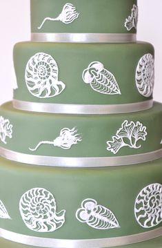 Fossil Jasper Ware / Wedgewood wedding cake sarahhardy.co.uk