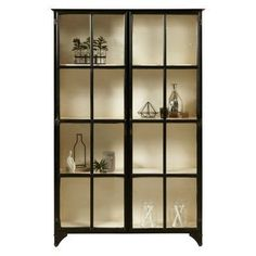 Glass Display Cabinet Plans - Glass Display Cabinet Plans , Pulaski Furniture Black Iron Display Bookcase with Doors Pulaski Furniture, Cabinet Furniture, Metal Furniture, Accent Furniture, Dining Furniture, Bookcase With Glass Doors, Metal Bookcase, Outdoor Tv Cabinet, Diy Arcade Cabinet