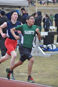 Saints first Spring invitational track meet for 2014. The NY / PA Invitational at Windsor