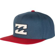 8ced7c484c3 Billabong Unisex All Day Snapback Hat ( 25) ❤ liked on Polyvore featuring  accessories