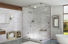 First floor bathroom with shower and steam stall instead of separate sauna.make it to bathroom Steam Room Shower, Steam Showers Bathroom, Bathroom Spa, Bathroom Renos, Bathroom Ideas, Bath Ideas, Relaxing Bathroom, Bathroom Plans, Bathroom Organization