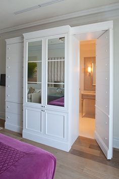 Hidden wardrobe toilet google search home bedroom for Hidden bathroom pics