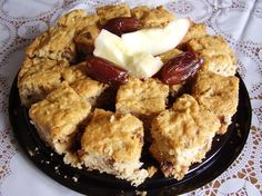 This was an adopted recipe from Recipe*zaar I made these delicious squares last night,  they are really moist and tasty! I did change the recipe and I am happy with the results. I used butter, my two apples measured 1 1/2 cups.