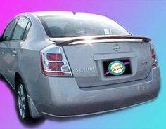 Unpainted 2007-2012 Nissan Sentra Spoiler Custom Style