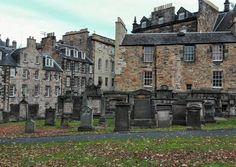 I could live there! Greyfriars Kirkyard, Edinburgh. Cemetery Safari in Scotland