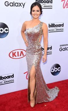 Nailed it! In a shimmering one-shoulder dress, the actress is absolutely breathtaking.. Danica McKellar from 2015 Billboard Music Awards Red Carpet Arrivals | E! Online