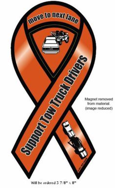 Support Tow Truck Drivers Magnet.   https://www.facebook.com/pages/Support-Tow-Truck-Drivers/318040244961424?ref=hl