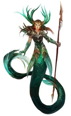 Beautiful Science Fiction, Fantasy and Horror art from all over the world. Fantasy Creatures, Mythical Creatures, Sea Creatures, Fantasy Mermaids, Mermaids And Mermen, Mermaid Drawings, Mermaid Art, Character Inspiration, Character Art