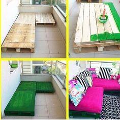 balkona-ahsap-palet-divan-sedir-yapimi