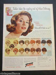 Vintage Hair color Suzy Parker