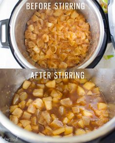 Apple Pie Filling - Cooking With Karli homemade apple pie filling in the Instant Pot Instant Pressure Cooker, Pressure Cooker Recipes, Pressure Cooking, Slow Cooker Apples, Cooked Apples, Instant Recipes, Instant Pot Dinner Recipes, Homemade Apple Pie Filling, Apple Filling