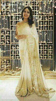 Samantha in Engagement Saree