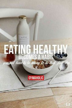 Nutrition motivation eating habits Eating Healthy Becomes A Habit You just have to be strong to do that first step. http:nutrition Fitness Quotes, Fitness Goals, Fitness Tips, Health Fitness, Workout Quotes, Workout Fitness, Gewichtsverlust Motivation, Weight Loss Motivation, Motivation Inspiration