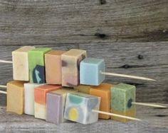 Natural soap kebabs